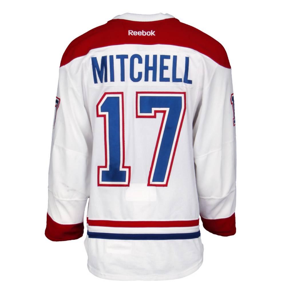 Club De Hockey CHANDAIL PORTÉ 2015-2016 #17 TORREY MITCHELL SÉRIE 1B À L'ÉTRANGER