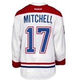 Club De Hockey 2015-2016 #17 TORREY MITCHELL AWAY SET 2 GAME-USED JERSEY