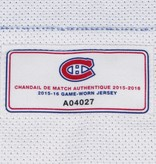 Club De Hockey CHANDAIL PORTÉ 2015-2016 #17 TORREY MITCHELL SÉRIE 2 À L'ÉTRANGER
