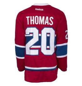 Club De Hockey 2015-2016 #20 CHRISTIAN THOMAS HOME SET 1 GAME-USED JERSEY