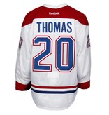 Club De Hockey 2015-2016 #20 CHRISTIAN THOMAS AWAY SET 2 GAME-USED JERSEY (GAME-ISSUED)