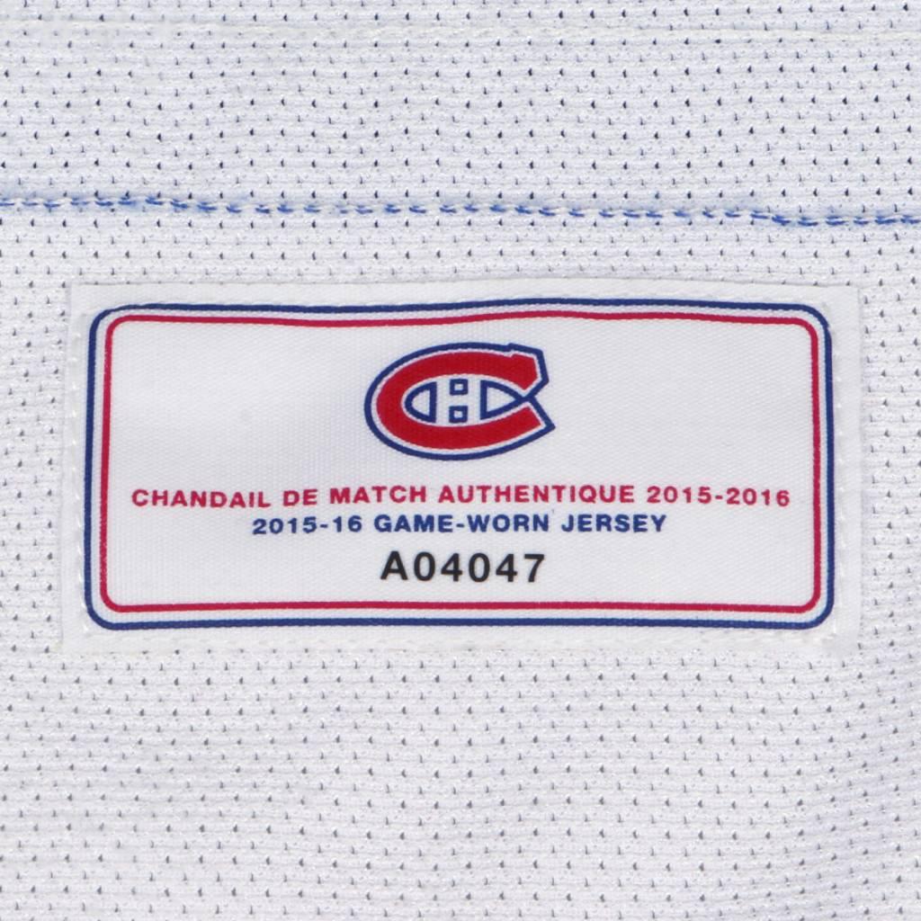 Club De Hockey CHANDAIL PORTÉ 2015-2016 #21 DEVANTE SMITH-PELLY SÉRIE 1 À L'ÉTRANGER