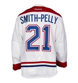Club De Hockey 2015-2016 #21 DEVANTE SMITH-PELLY AWAY SET 1 GAME-USED JERSEY