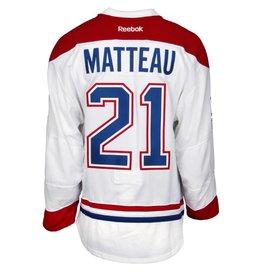 Club De Hockey 2015-2016 #21 STEFAN MATTEAU AWAY SET 1 GAME-USED JERSEY (GAME-ISSUED)