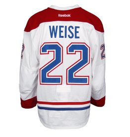 Club De Hockey 2015-2016 #22 DALE WEISE AWAY SET 2 GAME-USED JERSEY