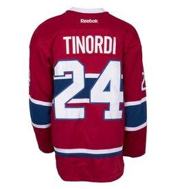 Club De Hockey CHANDAIL PORTÉ 2015-2016 #24 JARRED TINORDI SÉRIE 1 À DOMICILE (MATCHS PRÉPARATOIRES)