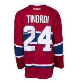 Club De Hockey 2015-2016 #24 JARRED TINORDI HOME SET 2 GAME-USED JERSEY