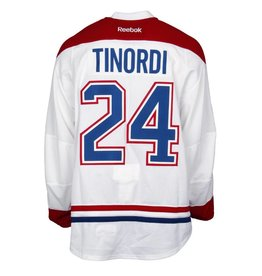 Club De Hockey 2015-2016 #24 JARRED TINORDI AWAY SET 2 GAME-USED JERSEY (GAME-ISSUED)