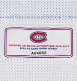 Club De Hockey 2015-2016 #25 JACOB DE LA ROSE AWAY SET 1 GAME-USED JERSEY (GAME-ISSUED)