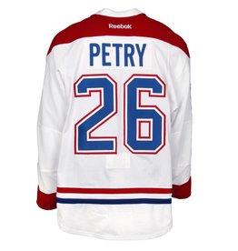 Club De Hockey 2015-2016 #26 JEFF PETRY AWAY SET 2 GAME-USED JERSEY