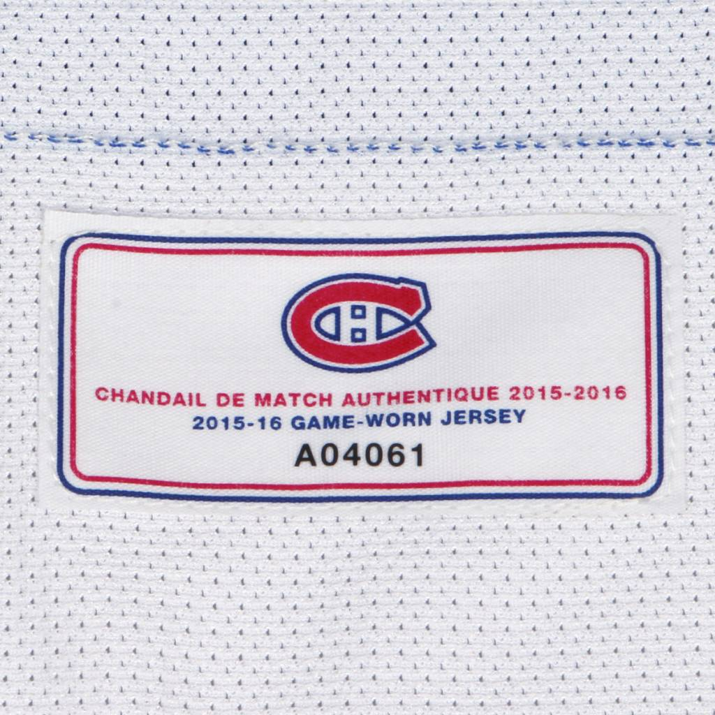 Club De Hockey CHANDAIL PORTÉ 2015-2016 #26 JEFF PETRY SÉRIE 2 À L'ÉTRANGER