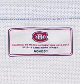 Club De Hockey CHANDAIL PORTÉ 2015-2016 #28 NATHAN BEAULIEU SÉRIE 1 À L'ÉTRANGER