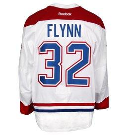 Club De Hockey 2015-2016 #32 BRIAN FLYNN AWAY SET 2 GAME-USED JERSEY