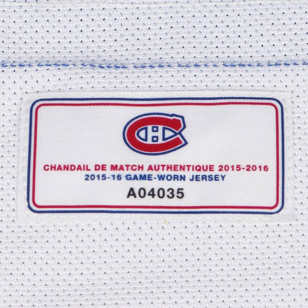 Club De Hockey CHANDAIL PORTÉ 2015-2016 #32 BRIAN FLYNN SÉRIE 2 À L'ÉTRANGER