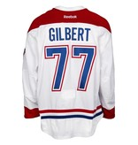 Club De Hockey CHANDAIL PORTÉ 2015-2016 #77 TOM GILBERT SÉRIE 2 À L'ÉTRANGER