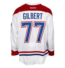 Club De Hockey 2015-2016 #77 TOM GILBERT AWAY SET 2 GAME-USED JERSEY