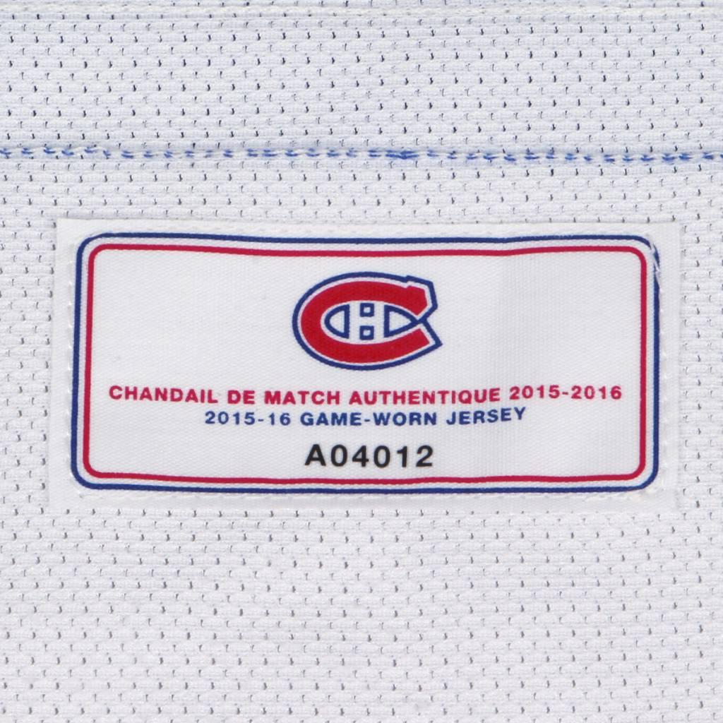 Club De Hockey CHANDAIL PORTÉ 2015-2016 #81 LARS ELLER SÉRIE 2 À L'ÉTRANGER