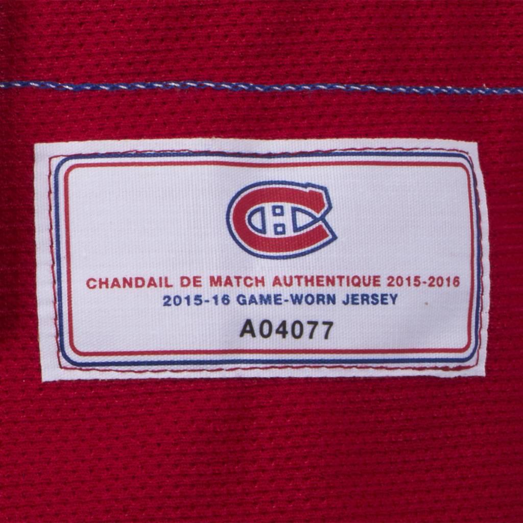 Club De Hockey CHANDAIL PORTÉ 2015-2016 #85 MORGAN ELLIS SÉRIE 1 À DOMICILE (CHANDAIL PRÉPARÉ)