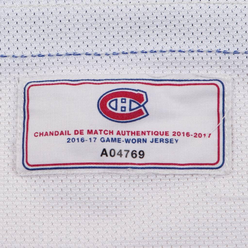 Club De Hockey CHANDAIL PORTÉ 2016-2017 #17 TORREY MITCHELL SÉRIE 2 À L'ÉTRANGER