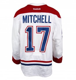 Club De Hockey 2016-2017 #17 TORREY MITCHELL AWAY SET 3 GAME-USED JERSEY
