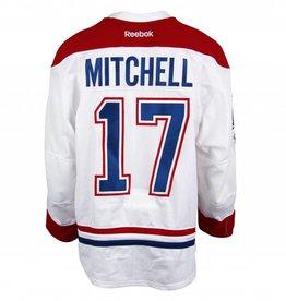 Club De Hockey CHANDAIL PORTÉ 2016-2017 #17 TORREY MITCHELL SÉRIE 3 À L'ÉTRANGER