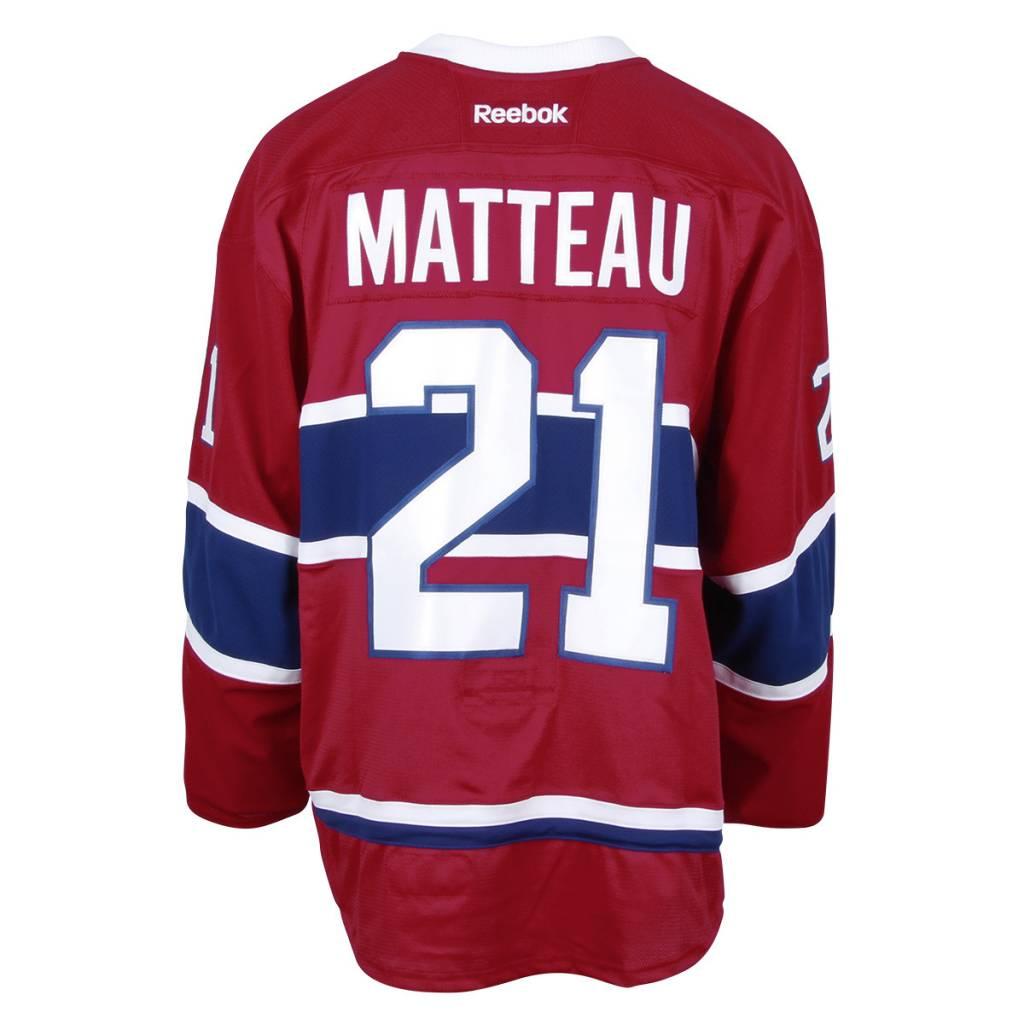 Club De Hockey CHANDAIL PORTÉ 2016-2017 #21 STEFAN MATTEAU SÉRIE 2 À DOMICILE (CHANDAIL PRÉPARÉ)