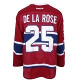 Club De Hockey CHANDAIL PORTÉ 2016-2017 #25 JACOB DE LA ROSE SÉRIE 1 À DOMICILE (MATCHS PRÉPARATOIRES)