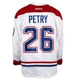 Club De Hockey CHANDAIL PORTÉ 2016-2017 #26 JEFF PETRY SÉRIE 1 À L'ÉTRANGER
