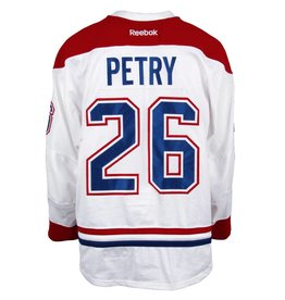 Club De Hockey 2016-2017 #26 JEFF PETRY AWAY SET 1 GAME-USED JERSEY
