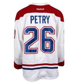 Club De Hockey CHANDAIL PORTÉ 2016-2017 #26 JEFF PETRY SÉRIE 2 À L'ÉTRANGER