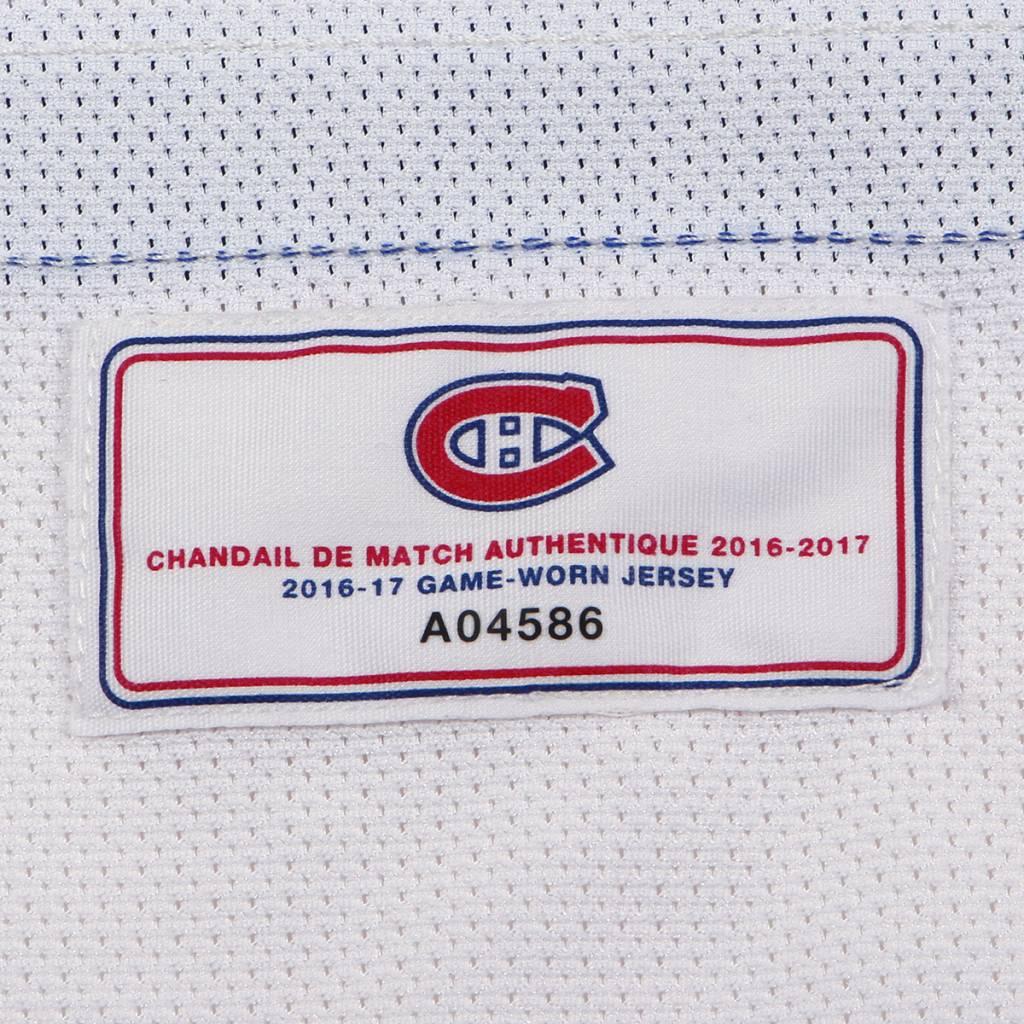 Club De Hockey CHANDAIL PORTÉ 2016-2017 #26 JEFF PETRY SÉRIE 3 À L'ÉTRANGER