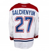 Club De Hockey 2016-2017 #27 ALEX GALCHENYUK AWAY SET 1 GAME-USED JERSEY