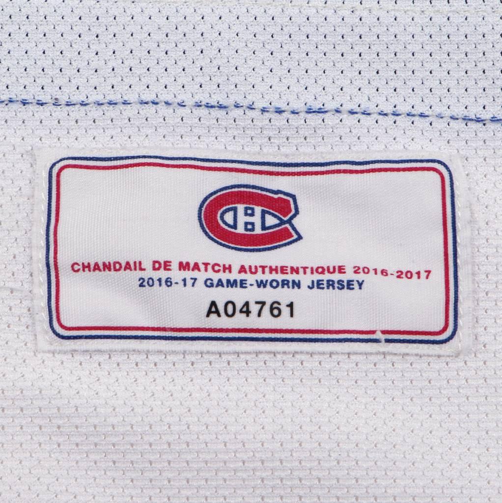 Club De Hockey CHANDAIL PORTÉ 2016-2017 #27 ALEX GALCHENYUK SÉRIE 2 À L'ÉTRANGER