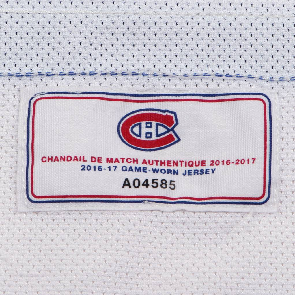 Club De Hockey CHANDAIL PORTÉ 2016-2017 #27 ALEX GALCHENYUK SÉRIE 3 À L'ÉTRANGER