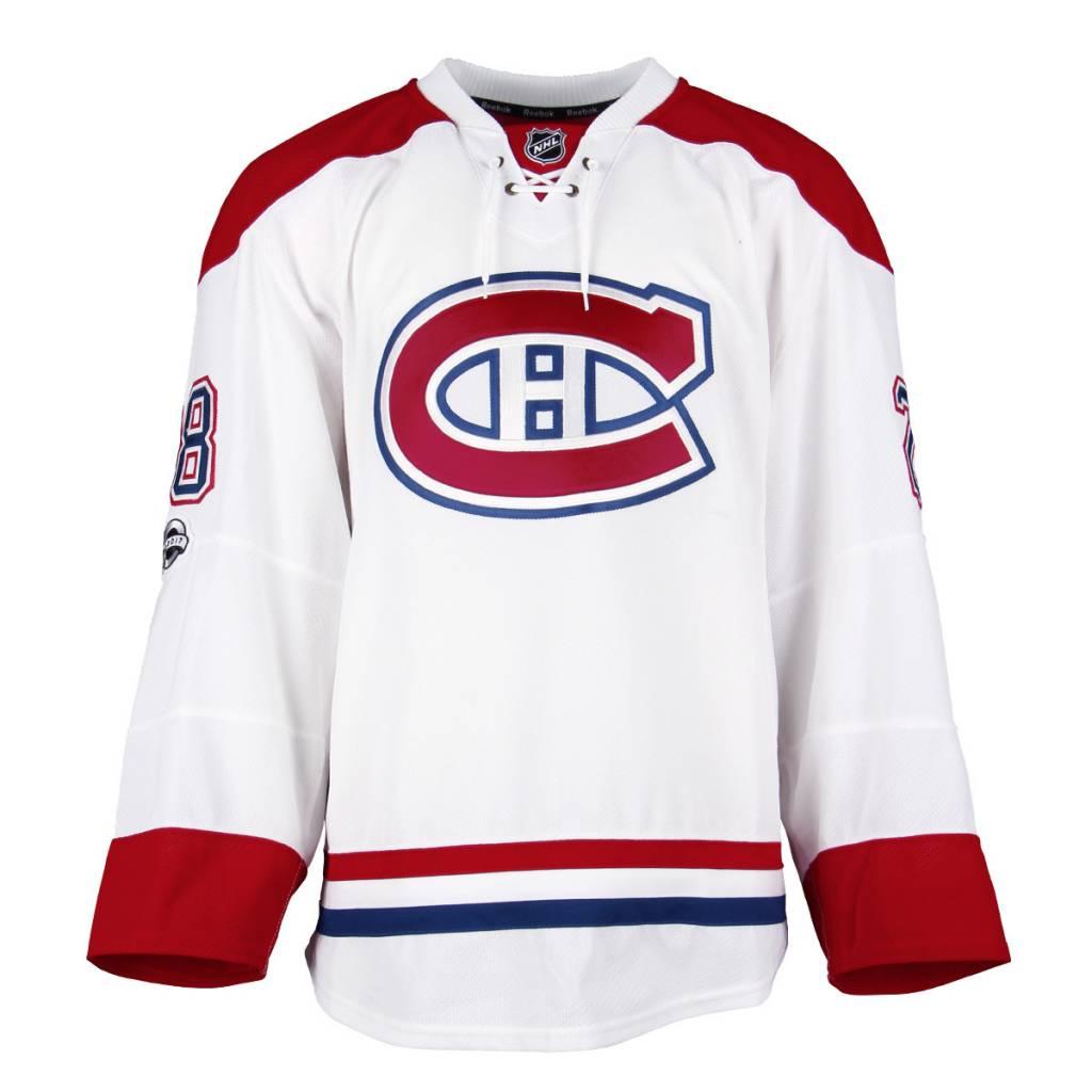 Club De Hockey CHANDAIL PORTÉ 2016-2017 #28 NATHAN BEAULIEU SÉRIE 3 À L'ÉTRANGER