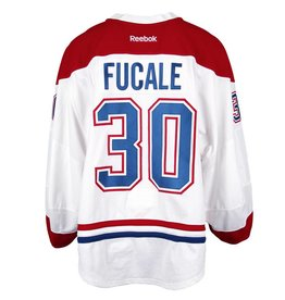 Club De Hockey 2016-2017 #30 ZACH FUCALE AWAY SET 1 GAME-USED JERSEY (PRE-SEASON)