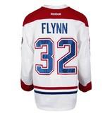 Club De Hockey CHANDAIL PORTÉ 2016-2017 #32 BRIAN FLYNN SÉRIE 2 À L'ÉTRANGER