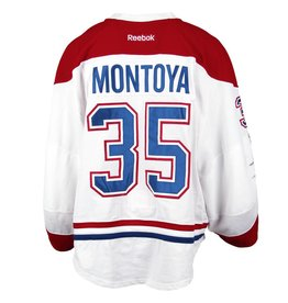 Club Du Hockey 2016-2017 #35 AL MONTOYA AWAY SET 2 GAME-USED JERSEY