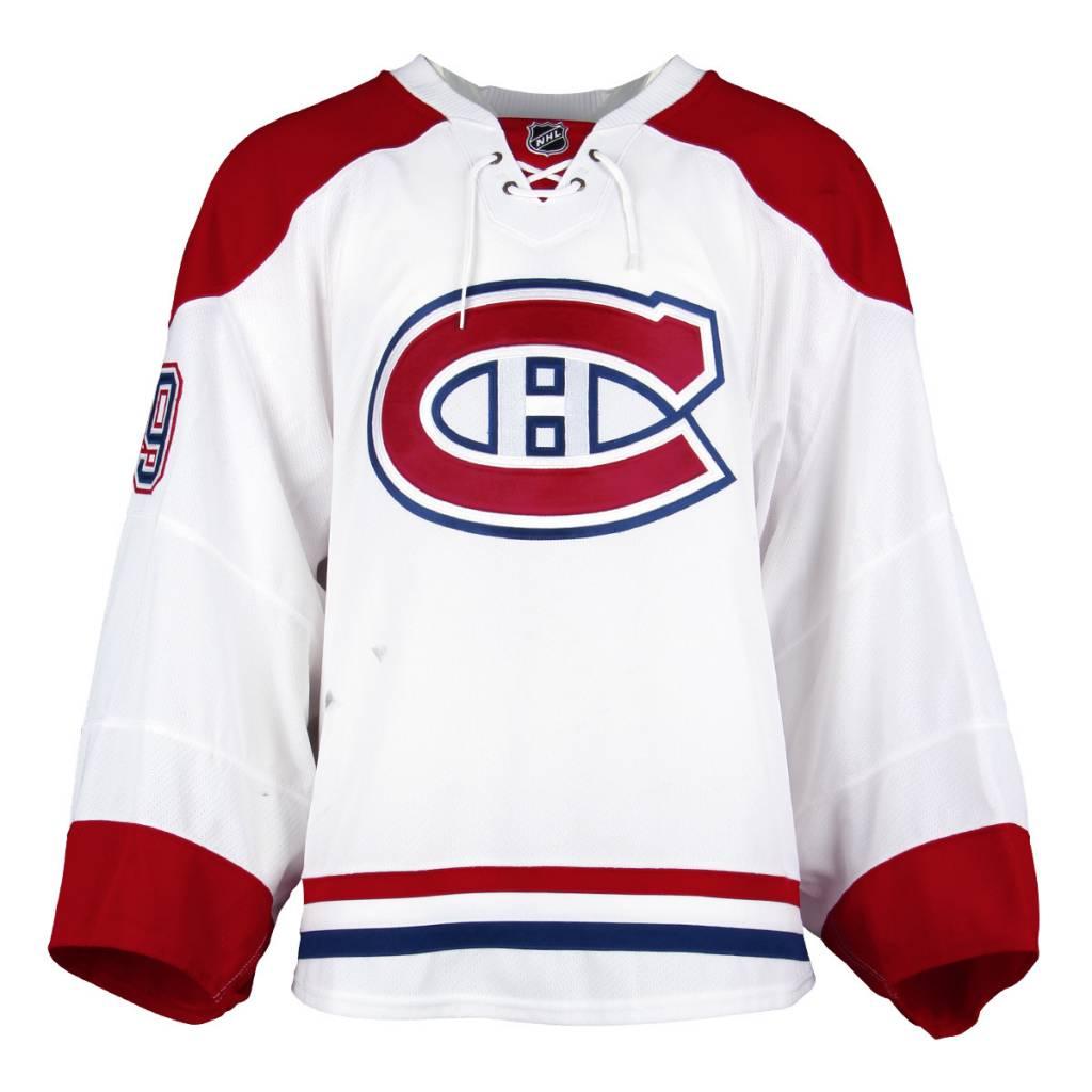 Club De Hockey CHANDAIL PORTÉ 2016-2017 #39 MIKE CONDON SÉRIE 1 À L'ÉTRANGER (MATCHS PRÉPARATOIRES)
