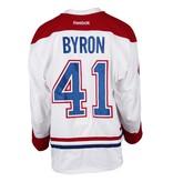 Club De Hockey CHANDAIL PORTÉ 2016-2017 #41 PAUL BYRON SÉRIE 1 À L'ÉTRANGER