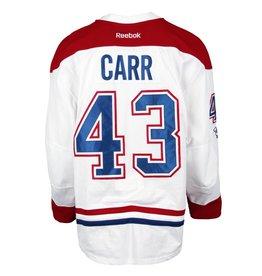 Club De Hockey CHANDAIL PORTÉ 2016-2017 #43 DANIEL CARR SÉRIE 2 √Ä L'ÉTRANGER
