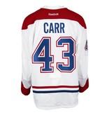 Club De Hockey CHANDAIL PORTÉ 2016-2017 #43 DANIEL CARR SÉRIE 3 À L'ÉTRANGER (CHANDAIL PRÉPARÉ)
