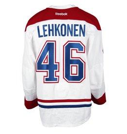 Club De Hockey 2016-2017 #46 ARTTURI LEHKONEN  AWAY SET 1 GAME-USED JERSEY (PRE-SEASON)
