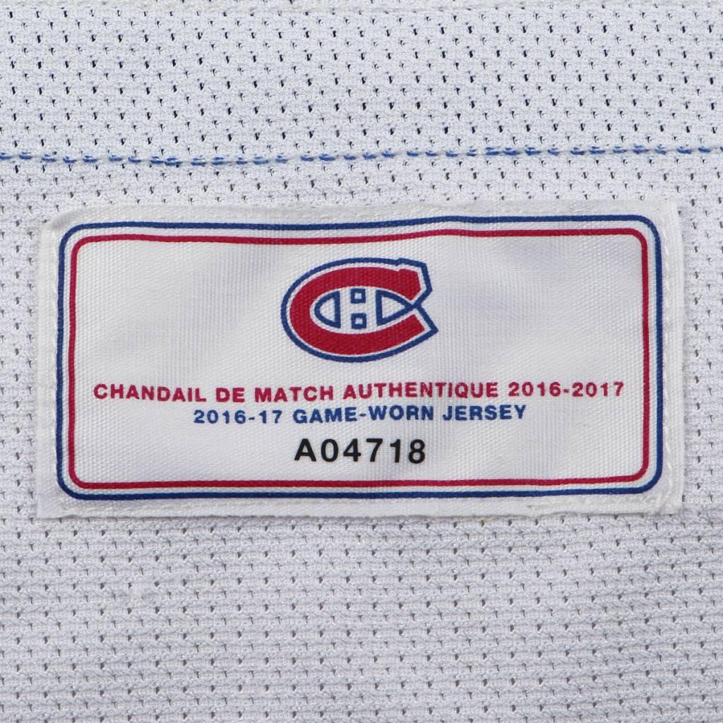 Club De Hockey CHANDAIL PORTÉ 2016-2017 #46 ARTTURI LEHKONEN SÉRIE 1 À L'ÉTRANGER (MATCHS PRÉPARATOIRES)