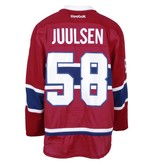 Club De Hockey 2016-2017 #58 NOAH JUULSEN HOME SET 1 GAME-USED JERSEY (PRE-SEASON)