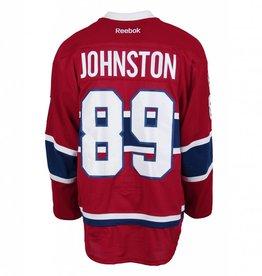 Club De Hockey 2016-2017 #89 RYAN JOHNSTON HOME SET 1 GAME-USED JERSEY