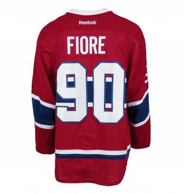 Club De Hockey 2016-2017 #90 GIOVANNI FIORE HOME SET 1 GAME-USED JERSEY (GAME-ISSUED)