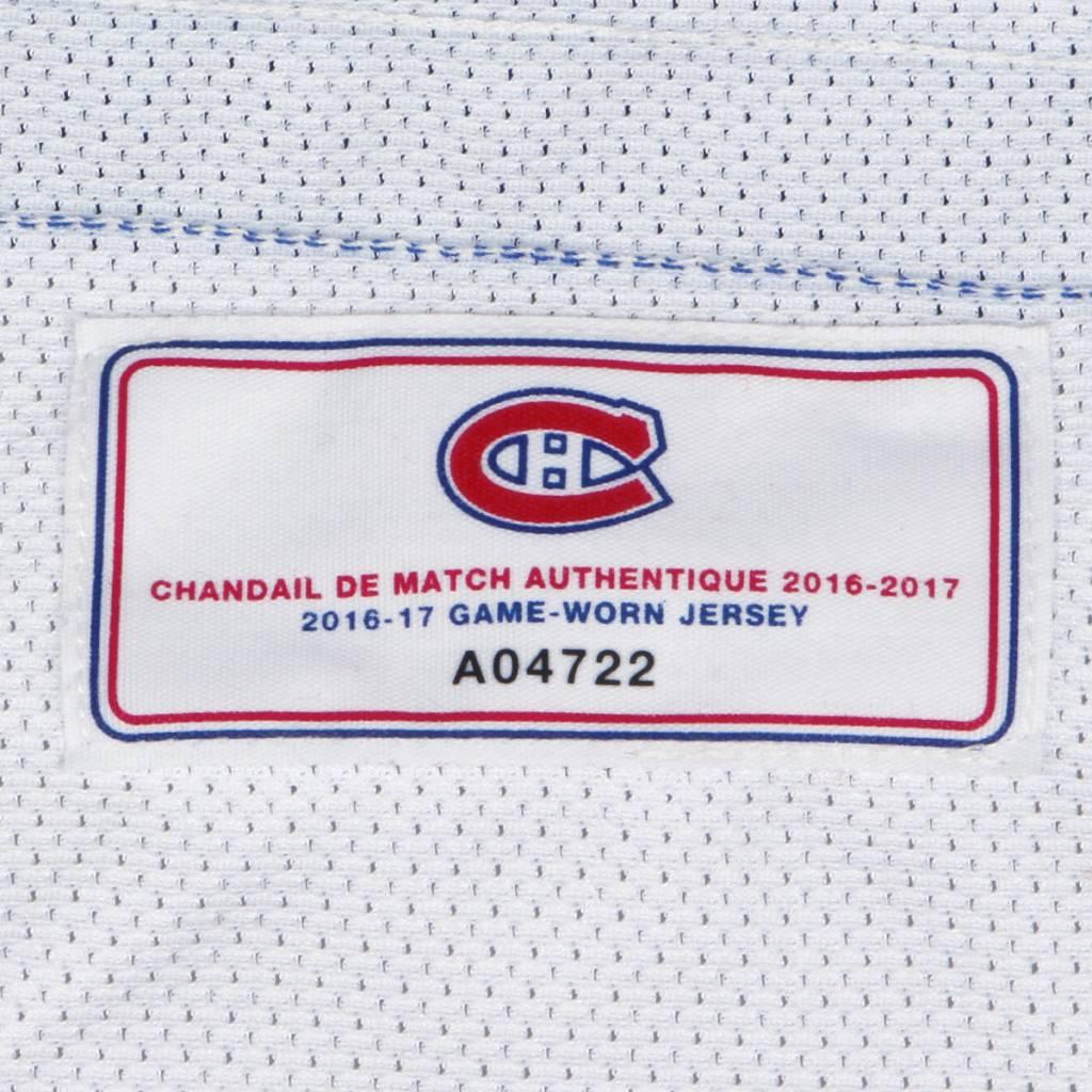 Club De Hockey CHANDAIL PORTÉ 2016-2017 #92 HAYDEN MCCOOL À L'ÉTRANGER (CHANDAIL PRÉPARÉ)