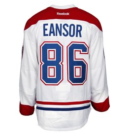 Club De Hockey 2016-2017 #86 SCOTT EANSOR AWAY GAME-USED JERSEY (GAME-ISSUED)