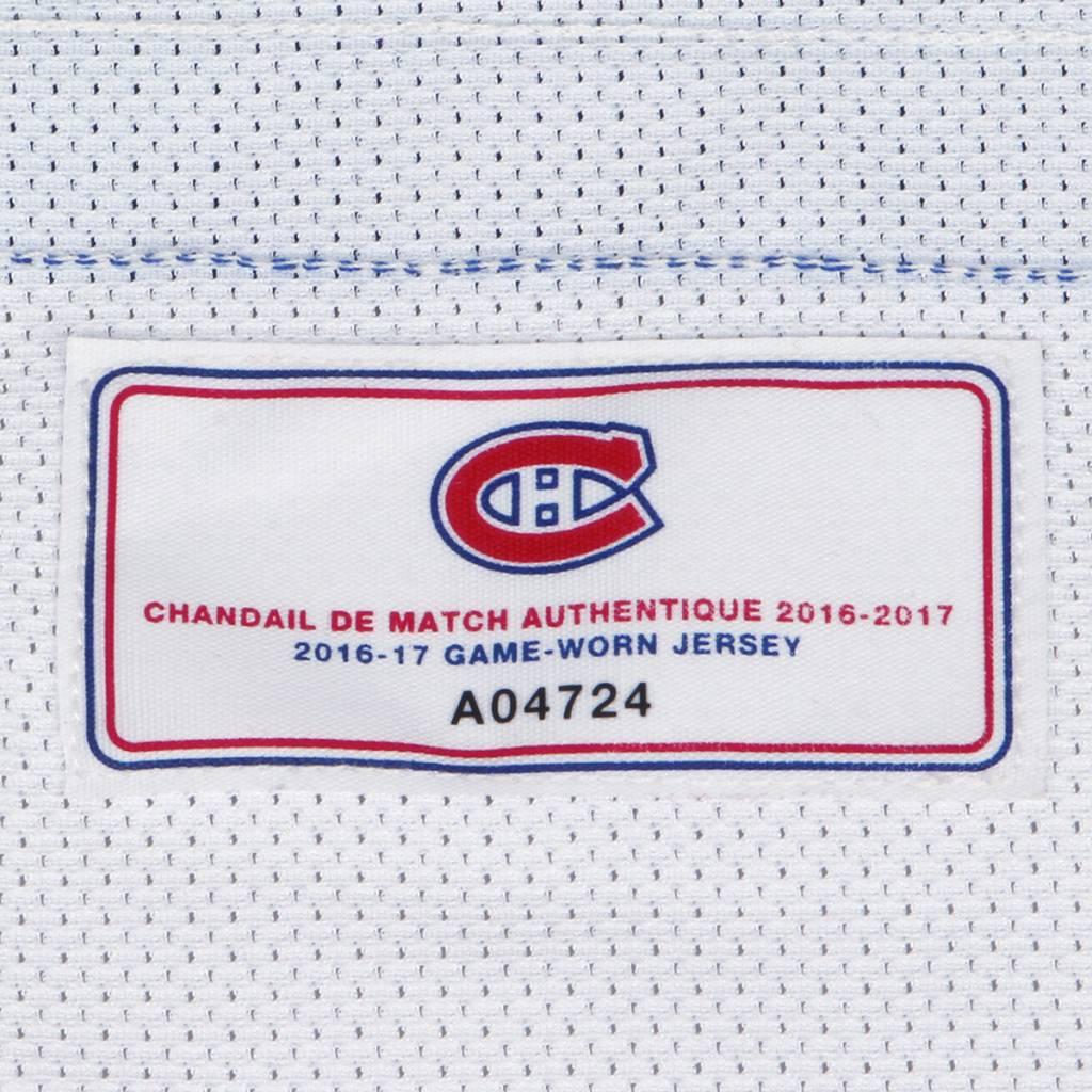 Club De Hockey CHANDAIL PORTÉ 2016-2017 #86 SCOTT EANSOR À L'ÉTRANGER (CHANDAIL PRÉPARÉ)
